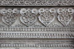 Stucco in thai style Royalty Free Stock Image