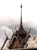 Stucco Thai. Temple with Thai Stucco art Royalty Free Stock Image