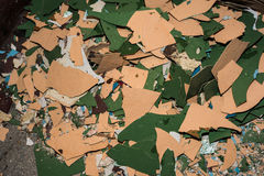 Stucco wall background. Displays repair or destruction Royalty Free Stock Image