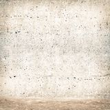 Stucco wall with sand Stock Image