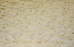 Stucco wall texture. Displays folk art of Thai people Stock Photography