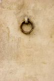 Stucco wall texture with ring Stock Photography