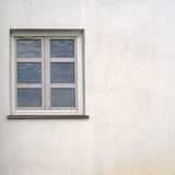 Stucco wall with window Royalty Free Stock Images