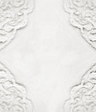 Stucco on white wall Stock Image