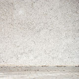 Stucco white wall Stock Images