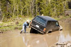 Stuck 4x4 Stock Photos