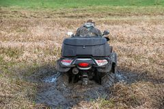Stuck ATV Royalty Free Stock Image
