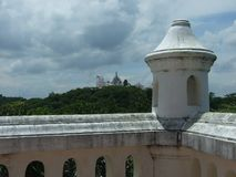 Stuck [Palast auf Mt ] Lizenzfreies Stockbild