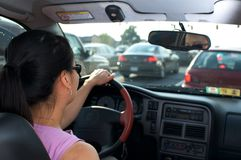 Stuck in Traffic Stock Photos