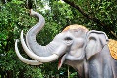 Elefantmodell. Stockfotografie