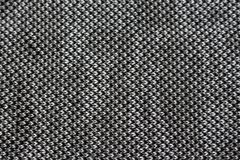 Stucken abstrakt textur av grå färg-, vit- och svarttrådar Royaltyfria Foton
