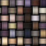 Stucken färgrik textur som abstrakt kanfasbakgrund Arkivfoton