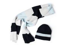 stucken scarf Royaltyfria Bilder