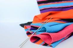 Stucken scarf Royaltyfri Fotografi