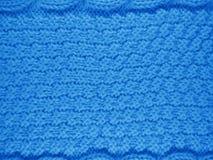 Stucken ullbakgrund - ljus - blått Arkivfoton