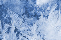 Stucture of snow surface Royalty Free Stock Photos