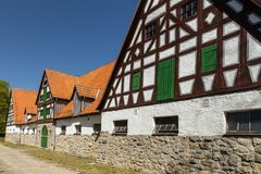 The stud Altefeld in Hesse. In Germany stock photography