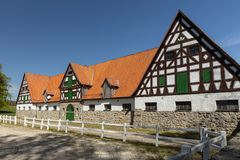 The stud Altefeld in Hesse. In Germany royalty free stock photography