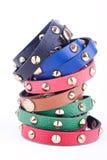 Studded bracelets Royalty Free Stock Photos