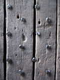Studded Door Royalty Free Stock Photos