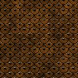 Studded Leather. Seamless Texture Tile Royalty Free Stock Photos