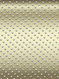 Studded metallic background Stock Images