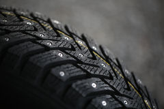 Studded tire Stock Photography