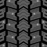 Studded tire pattern Stock Images