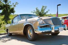 1957年Studebaker金黄鹰 免版税库存图片