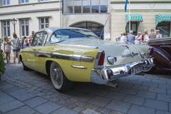 1955年Studebaker总统小轿车 图库摄影