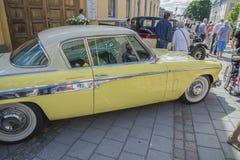 1955年Studebaker总统小轿车 库存图片