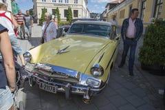 1955年Studebaker总统小轿车 免版税库存照片