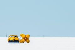 Studebaker bei Bonneville Lizenzfreie Stockbilder