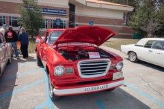 Studebaker classico al Car Show di Northwood Fotografie Stock
