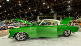Studebaker. DETROIT, MI/USA - FEBRUARY 27, 2016: A Studebaker interpretation, on display at the Detroit Autorama, a showcase of custom and restored cars Stock Photography