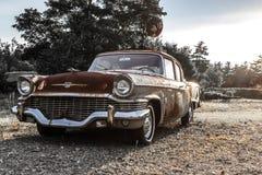 57 Studebaker hanno arrugginito Fotografia Stock Libera da Diritti