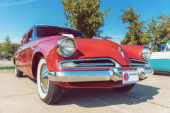 Studebaker kommendörkapten 1953 Coupe Arkivfoto