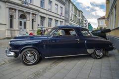 Studebaker kommendörkapten 1948 Starlight Coupe Fotografering för Bildbyråer