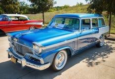 1956 Studebaker prezydenta Pinehurst furgon Obrazy Stock