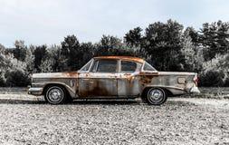 57 Studebaker se sont rouillés Photo libre de droits