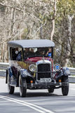 1925 Studebaker Standard Six Sedan. Adelaide, Australia - September 25, 2016: Vintage 1925 Studebaker Standard Six Sedan driving on country roads near the town Stock Photos