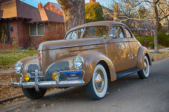 1940 Studebaker Wodzowski Biznesowy Coupe fotografia royalty free