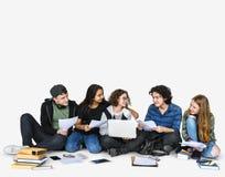 Studenccy edukaci szkoły naukowa przyjaciele obraz stock