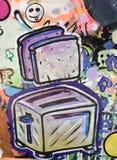 Studenccy sztuka kawałki na pokazie przy Milwaukee Fotografia Stock