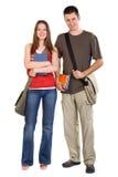 studenci szczęśliwi Fotografia Stock