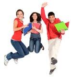 studenci szczęśliwi Zdjęcie Royalty Free