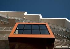 Studencki budynek mieszkalny w Odense, Dani Zdjęcia Royalty Free