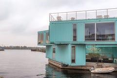 Studencki budynek mieszkalny w zbiornikach fotografia royalty free