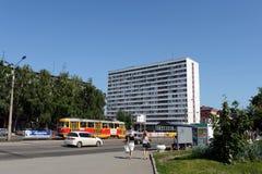 Studencki dormitorium Altai stanu agrarny uniwersytet w Barnaul Fotografia Royalty Free