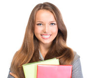 Studencki dziewczyna portret Obraz Royalty Free